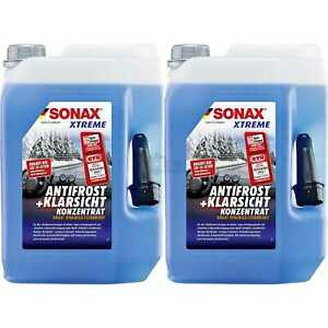 2x Sonax Xtreme Anti-gelo + Trasparente Concentrato 232505