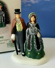 DEPT 56 Dickens Village A GENTLEMAN AND LADY!  Elegant Couple