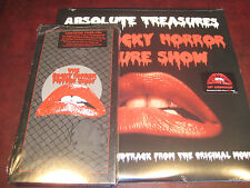 ROCKY HORROR PICTURE SHOW RARE  4 CD SET + RED VINYL 40TH ANNIVERSARY 2 LP SET