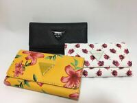 New With Box Abree SLG Triford Wallet Black & Floral Purse NWT SF602651
