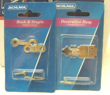 """Schlage- Lot of 30 5/8 in. x 1-3/4 in. Hasp and 5/8"""" x 1-7/8"""""""