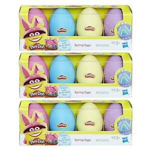 Play-Doh Treat Without The Sweet Spring Eggs 12ct Hunt Basket Gift Set Bundle