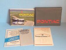 91 1991 Pontiac Grand Prix owners manual