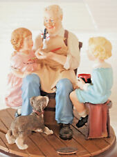 Norman Rockwell Gallery ~ Living Treasures Collection~ Porcelain, Bisque Figurin