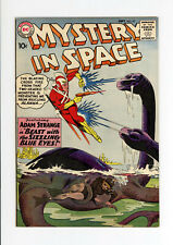 MYSTERY IN SPACE #62  VF+ 8.5 - ADAM STRANGE - AWESOME COVER - 1960