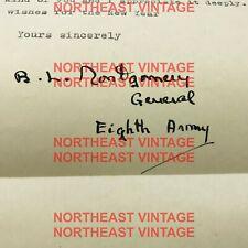 More details for general bernard l montgomery signed letter middlesbrough general hospital 1944