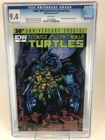 TMNT 30th Anniversary Special CGC 9.4 NM (2014 IDW) White Pages