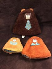 Vintage Fisher Price 3 Bears Nesting Hand Rattle Puppet 1981