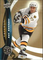 2009-10 Upper Deck Trilogy Boston Bruins Hockey Card #77 Ray Bourque