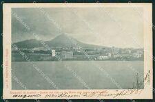 Napoli Torre del Greco Vesuvio cartolina XB0066