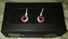 Jimmy Crystal Earbuds New Ladies Pink Swarovski Crystal New with Box