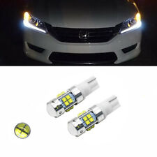 2X White 6000K LED Headlight DRL Strip Light Bulbs For 13-15 Honda Accord Sedan