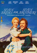 Seven Brides for Seven Brothers (1954) - Howard Keel, Jeff Richards - DVD NEW