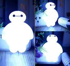 BayMax LED Night Light Bulb Energy Saving Big Hero 6 Cute Lamp Home Kid Gift