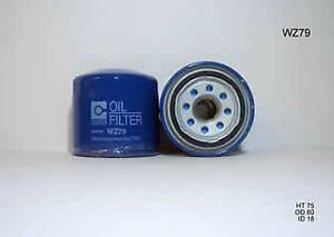 Wesfil Oil Filter WZ79 fits Hyundai i30 1.4 (GD) 73 kW, 1.6 (FD) 85 kW, 1.6 (...