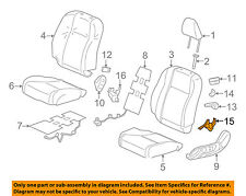HONDA OEM 2012 Civic Front Seat-Seat Cover-Outer Right 81237TS8A01ZA
