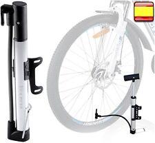 Inflador Bomba de aire bicicleta hinchador Incluye soporte de cuadro.