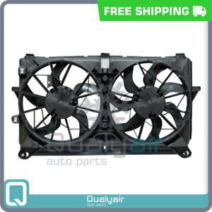 AC Radiator-Condenser Fan fits Cadillac Escalade / Chevrolet Silverado, Ta... QU