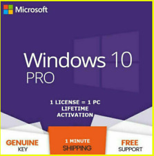 Windows 10 Pro Key🔑Multi-language⭐32/64 bit⭐Original License 🔥Instant delivery