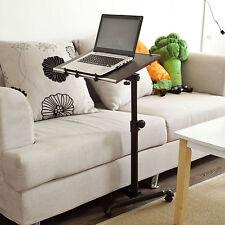 SoBuy®mesa auxiliar con ruedas,mesas para portatiles,FBT07N-BR,marrón,ES