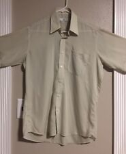 "EUC>>Men's>>Shirt>Paolo Gucci>Size 95 (M? Pit-to-Pit is 22"")>Short Sleeve>Button"