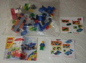 LEGO 5898 CARS BUILDING SET GAS STATION MINI FIGURE 98% COMPLETE W/ BOOKLET