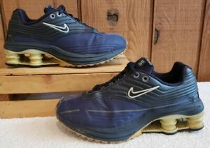 Vintage Nike Shox Blue Sneakers 8 Retro Running Trainers 303989 Women Sz 7.5 M