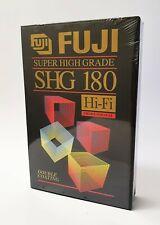 Fuji SHG Hi-FI E-180 VHS Blank Video Tape - 3 Pack