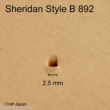 Punziereisen B892 Punzierstempel Lederstempel Craft Japan Leather Stamp