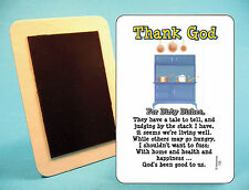 """Thank God For Dirty Dishes"" - Fridge Magnet - Sku# 735"