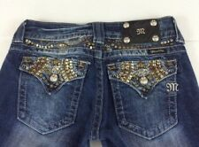 Women`s Miss Me jeans Capri Distressed Cropped Size 27 (Actual 28x19)