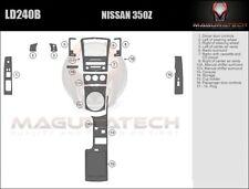 Fits Nissan 350Z 2003-2005 With Manual Trans Large Premium Wood Dash Trim Kit
