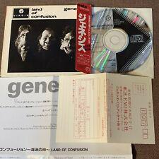 GENESIS Land Of Confusion JAPAN CD 20VD-1073 w/OBI integral PS BLACK TRIANGLE