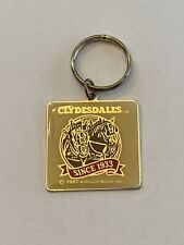 New listing budweiser clydesdale key chain