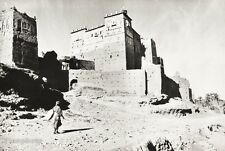 1934 Vintage 11x14 ~ AFRICA ~ Morocco Kasbas Clay Castles Architecture Photo Art