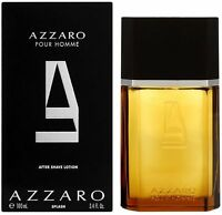 Azzaro Pour Homme After Shave Lotion Splash 3.4 oz (Pack of 2)