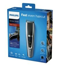 Phillips Series 5000 Hair Clipper; New in box; Black and Silver; HC5630