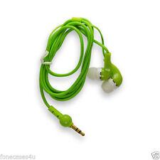Auriculares verde