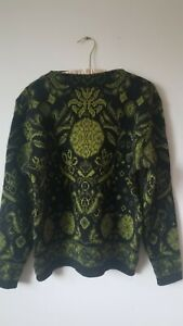 Vintage 90s Ren-Dale Norvyk 100% Pure Virgin Wool Sweater Long Sleeve Size M