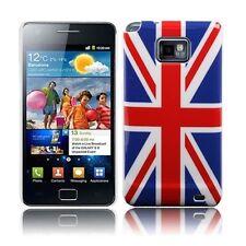 Hülle f Samsung Galaxy S2 + plus i9105 England Schutzhülle Case Tasche Flagge