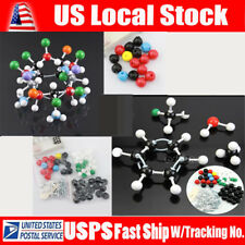 121 PCS Molecular Model Set Organic Chemistry Science Atom Molecules & Links Kit