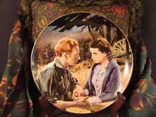 Scarlett and Ashley After The War Gone with Wind Golden Anniversary Plate #Saaw