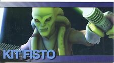 Star Wars Clone Wars Widevision Foil Character Chase Card #18