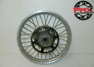 98 Yamaha Yz400f Rear Wheel, Rim, Hub B10