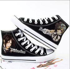 new Kuroshitsuji Cosplay Canvas Shoes Black Butler Ceil Sneakers