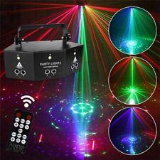 2020 Stage Lights Laser LED Light Remote 9-EYE RGB DMX Scan Projector Strobe DJ