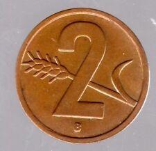 2 Rappen Schweiz 1953 B in fast unzirkuliert