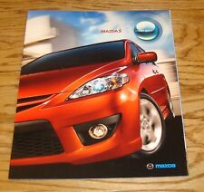 Original 2008 Mazda Mazda5 5 Sales Brochure 08