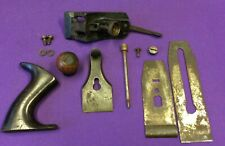 Used Parts Stanley Plane 5 Plane Wear Soil Rust No Splits On Knob And Tote U
