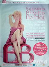 BRIGITTE BARDOT PARIS EXHIBITION - PIN UP  / LEGS - RARE ORIGINAL LARGE POSTER